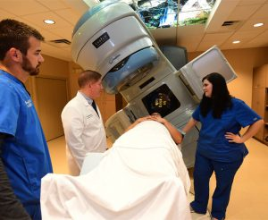RapidArc™ Radiotherapy Treatment with Patient