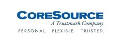 CoreSource a Trustmark Company logo
